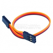 15cm Servo Lead male to male (JR) 26AWG
