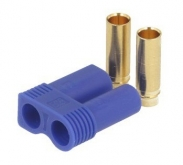 EC5 connector female - for slit version - blue