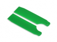 FUSUNO 62mm Neon Green Plastic Tail Blade 62 mm - 450 sizes