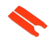 FUSUNO 62mm Neon Orange Plastic Tail Blade 62 mm - 450 sizes
