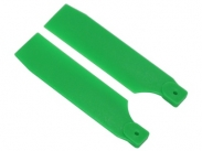 FUSUNO 95mm Extreme Stiff XS Engineering Plastic Neon Tail Blade 95mm Green - 50 size helis