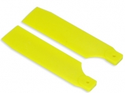 FUSUNO 105mm Extreme Stiff XS Engineering Plastic Neon Tail Blade 105 mm - Yellow - Size 90