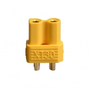 XT30 Connector female - YELLOW