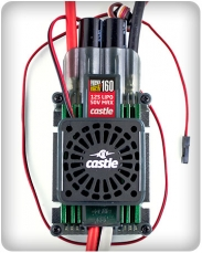 Castle EDGE HVF 160 with cooling fan