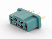 MPX connector female green